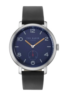 Ted Baker Leather Strap Watch, 43mm
