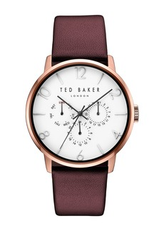 Ted Baker Men's James Quartz Analog Watch, 42mm