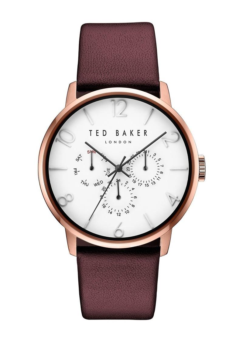 Ted Baker Men's James Quartz Analog Watch, 42mm