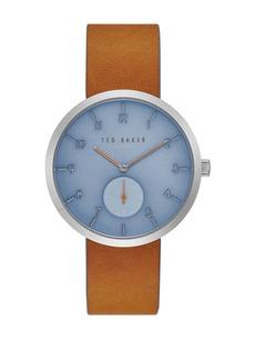 Ted Baker Men's  Josh Leather Strap Watch, 42mm