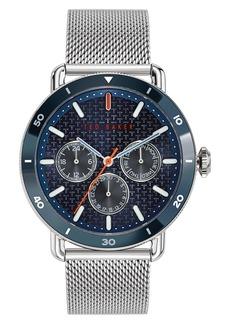 Ted Baker Men's Mragarit Chrono Mesh Strap Watch, 46mm