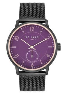 Ted Baker Men's Owen Mesh Bracelet Watch, 22mm