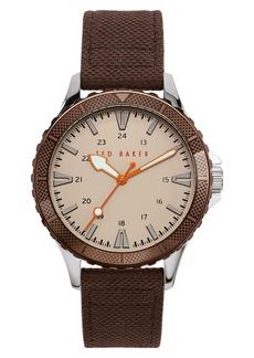 Ted Baker Men's Regent Strap Watch, 43mm