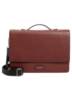 Men's Ted Baker London Housed Leather Satchel - Red