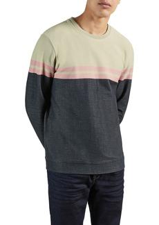 Men's Ted Baker London Lawn Colorblock Sweatshirt