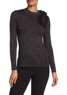 Ted Baker Metallised Ribbed Knit Sweater
