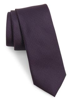 Ted Baker Micro Dot Skinny Silk Tie