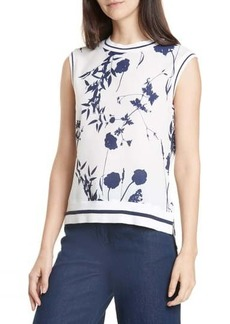 Ted Baker Miha Floral Sleeveless Top