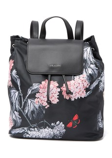 Ted Baker Milliee Narrnia Print Nylon Backpack