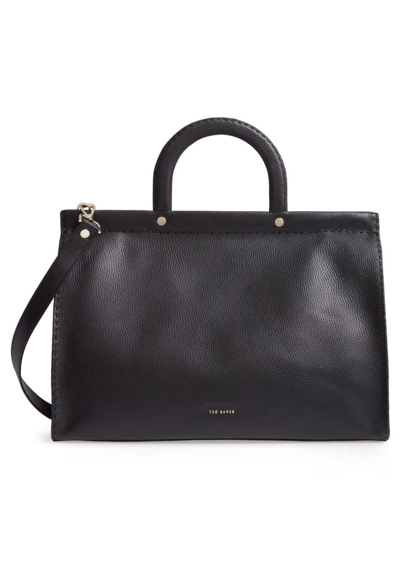 Ted Baker Miriian Stab Stitch Large Leather Tote