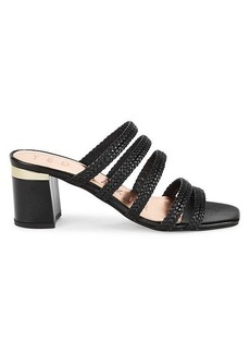 Ted Baker Multi-Strap Leather Heeled Sandals