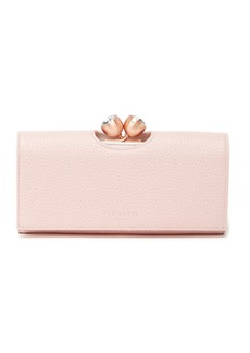 Ted Baker Muscovy Bobble Matinee Textured Leather Wallet