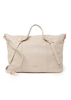 Ted Baker Oellie Knotted Handle Large Leather Tote Bag
