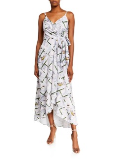 Ted Baker Olevya Everglade Sleeveless High-Low Dress