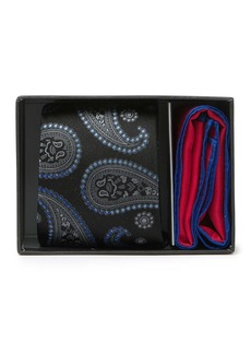 Ted Baker Ombre Paisley Tie & Pocket Square Set