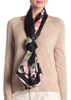 Ted Baker Peach Blossom Long Silk Scarf