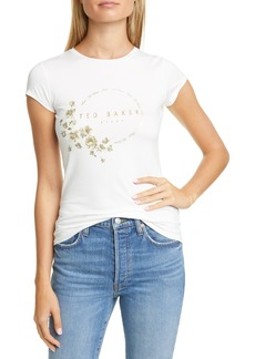 Ted Baker Pearl Printed Fitted T-Shirt
