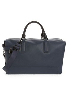 Ted Baker Potts Micro Perforated Leather Holdall