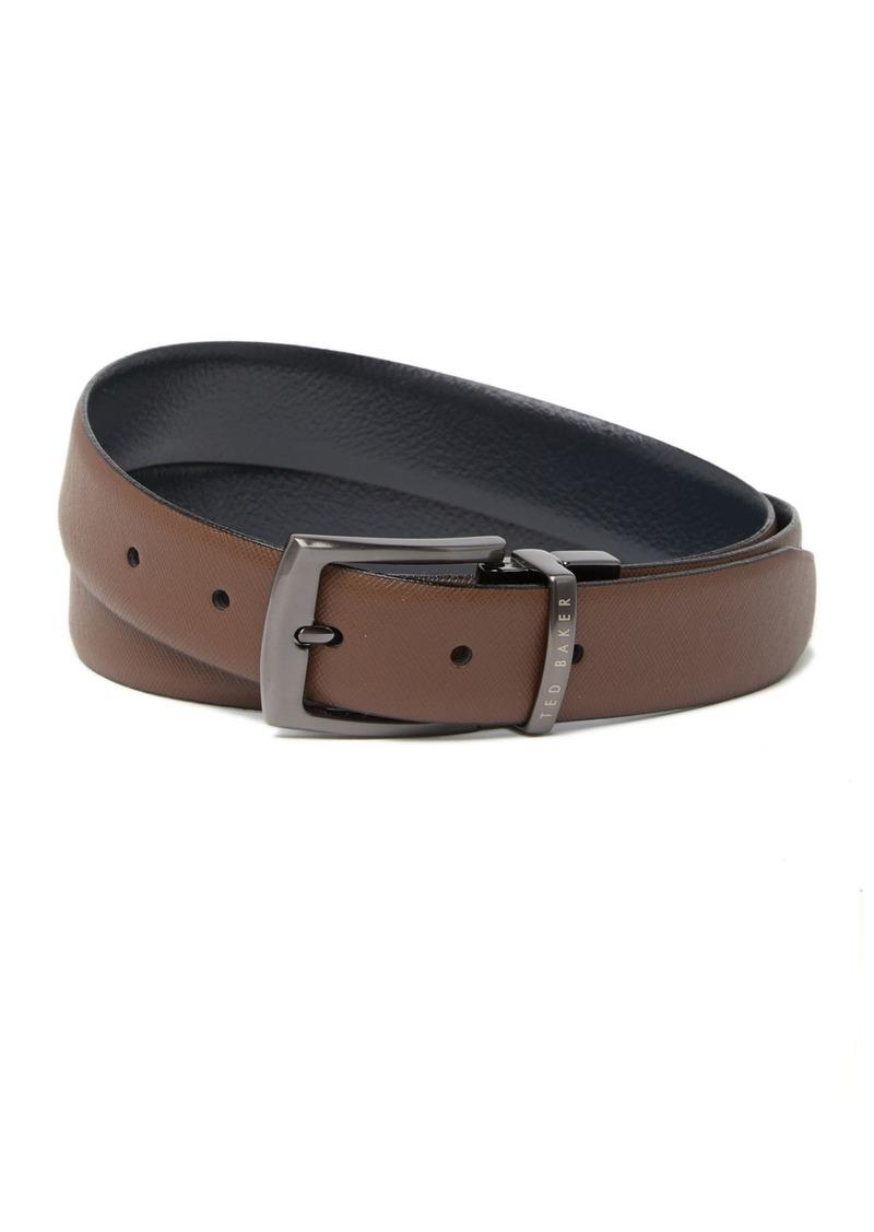 Ted Baker Queue Leather Reversible Belt