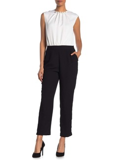 Ted Baker Roziee Colorblock Sleeveless Jumpsuit