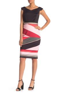 Ted Baker Sahara Print Skirt Bodycon Dress