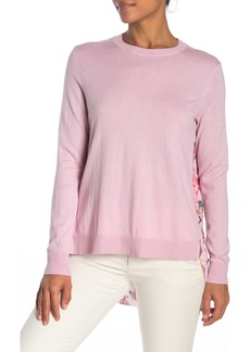 Ted Baker Serenity Printed Pleat Back Sweater