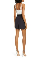 Ted Baker Shanat Colorblock Belted Playsuit