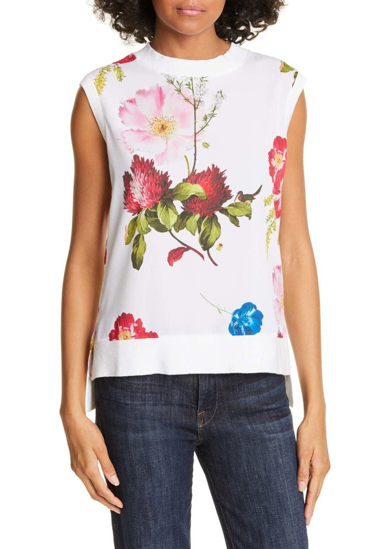 Ted Baker Silenaa Floral Sleeveless Top
