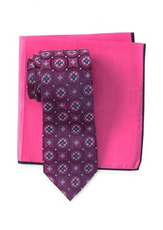 Ted Baker Silk Tie & Pocket Square Set