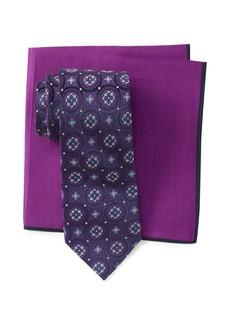 Ted Baker Silk Tie & Pocket Square Set