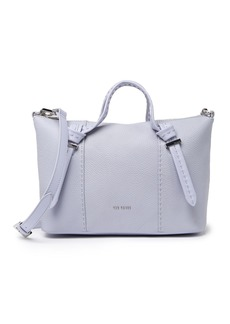 Ted Baker Small Olmia Knotted Handle Leather Tote Bag