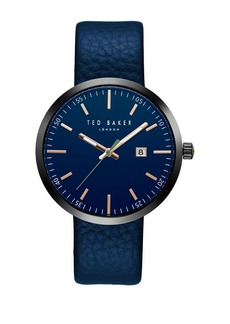 Ted Baker Smart Casual Genuine Leather Strap Watch