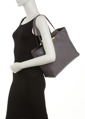 Ted Baker Soft Grain Leather Shopper Tote & Pouch
