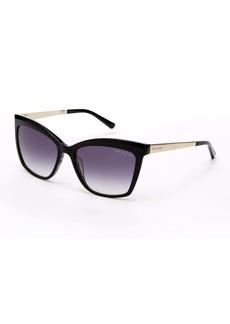Ted Baker Square Cat Eye 56mm Sunglasses