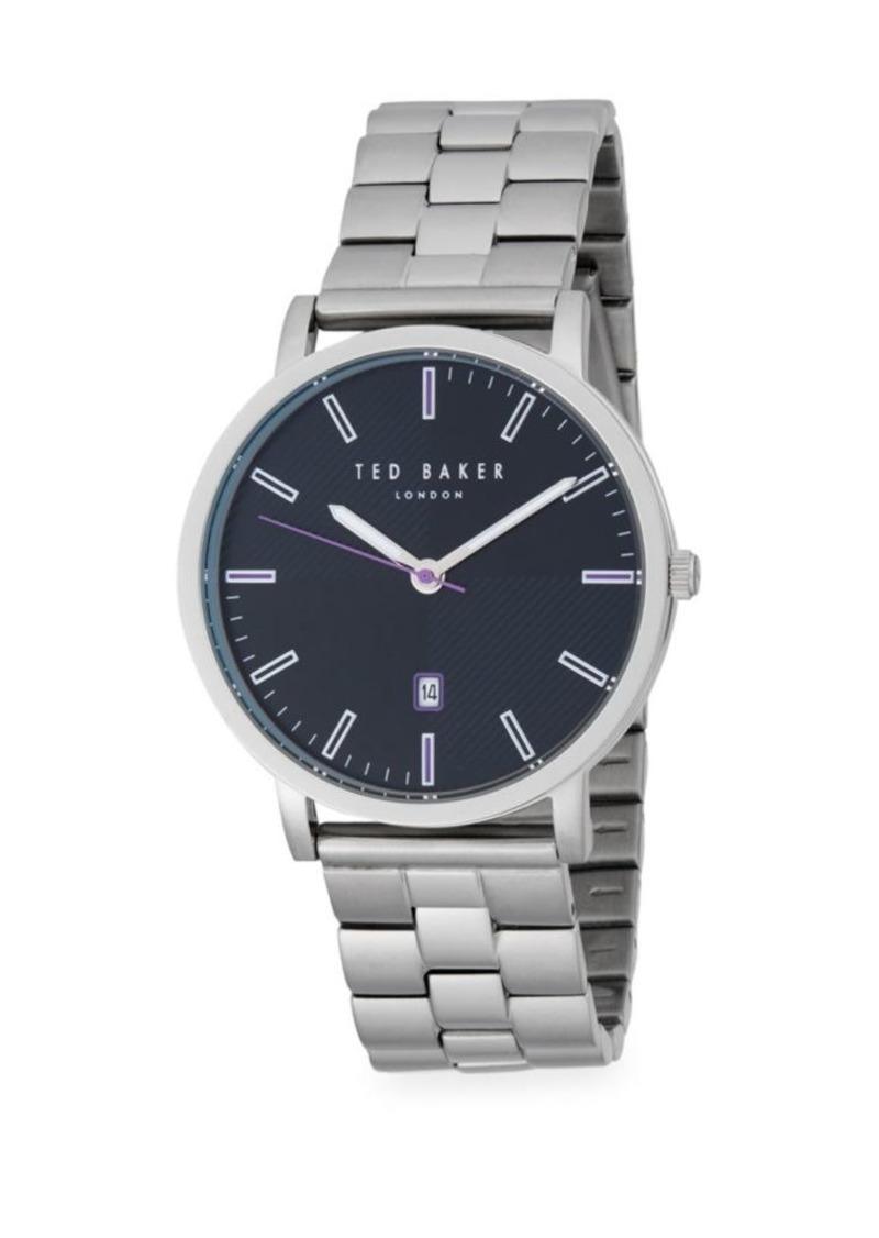 Ted Baker Stainless Steel Analog Bracelet Watch