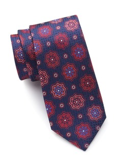 Ted Baker Star Medallion Silk Tie
