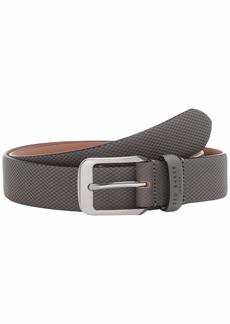 Ted Baker Streaky Rubberized Leather Belt