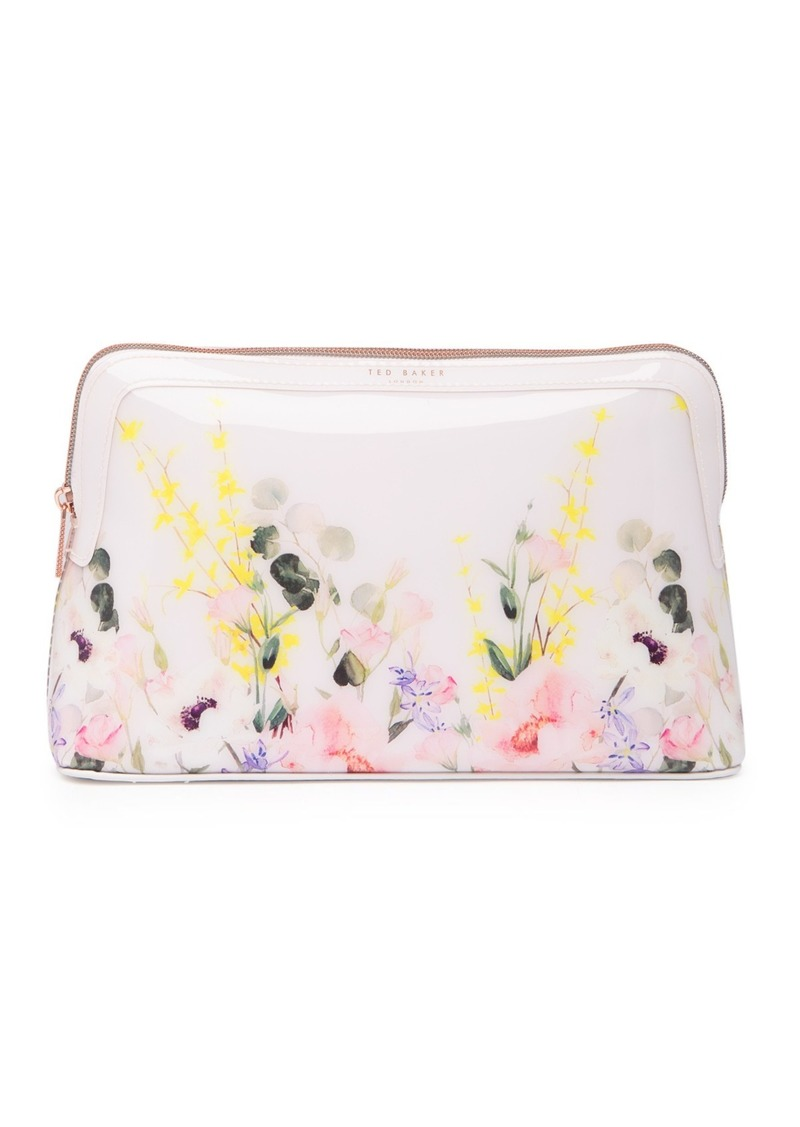 Ted Baker Sybill Print Large Cosmetics Case