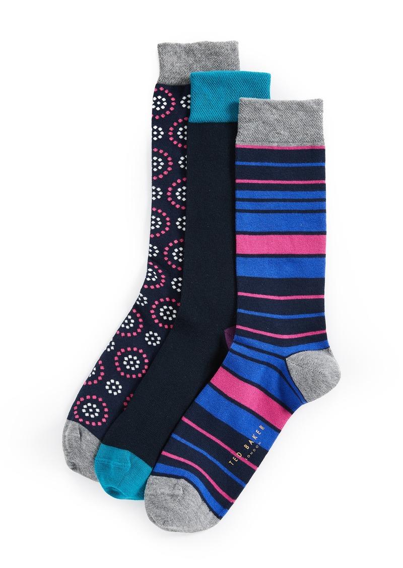 62b32ce7e5a Ted Baker Ted Baker 3 Pack Socks