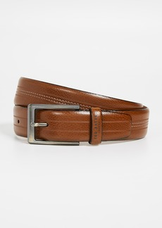 Ted Baker Aggra Stitch Detail Leather Belt