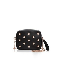 Ted Baker Alessia Faux-Pearl Leather Camera Bag