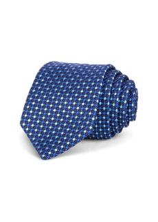 Ted Baker Alternating Dot Silk Classic Tie