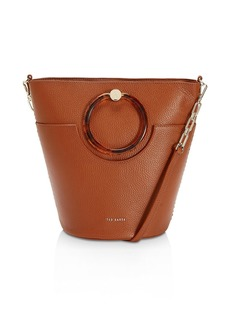 Ted Baker Aniie Leather Bucket Bag