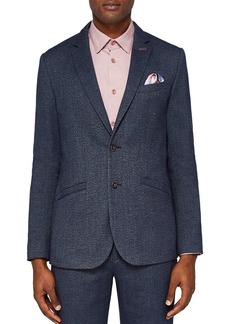 Ted Baker Beek Semi Plain Regular Fit Suit Jacket
