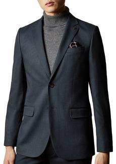 Ted Baker Beezly Textured Slim Fit Blazer