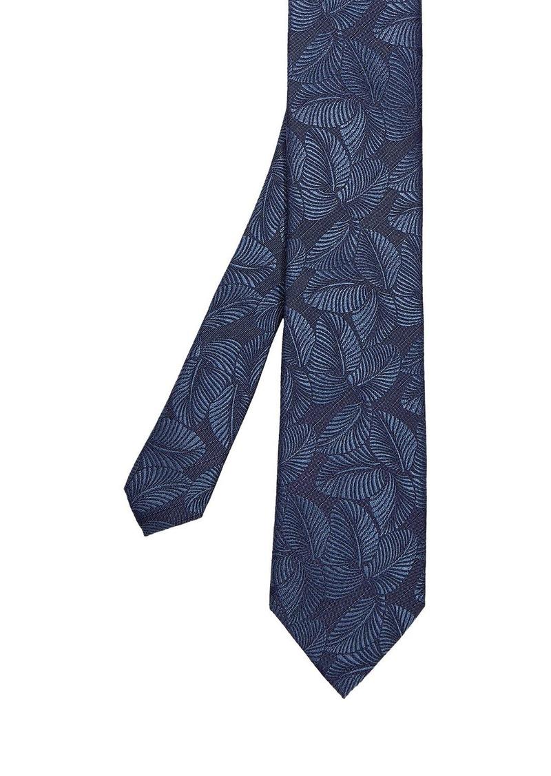 Ted Baker Bennet Leaf Jacquard Silk Tie