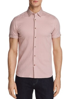 Ted Baker Blomtex Regular Fit Button-Down Shirt - 100% Exclusive