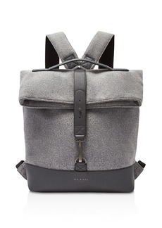 Ted Baker Cashed Fold-Over Rucksack