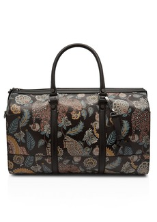 Ted Baker Casper Printed-Leather Holdall