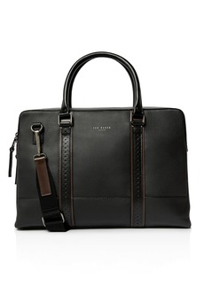 Ted Baker Catch Brogue Leather Document Bag